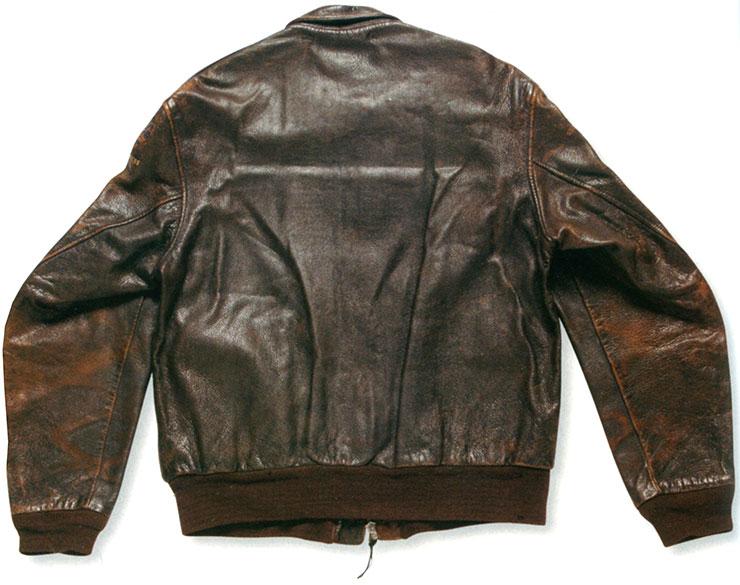 A-2ジャケットの背中
