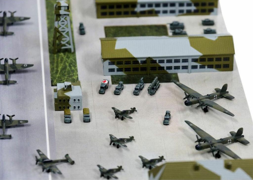 1/700 ジオラマ製作セット 独軍