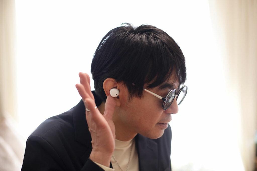 美形の聴覚サポートイヤホンを試してみた! #2