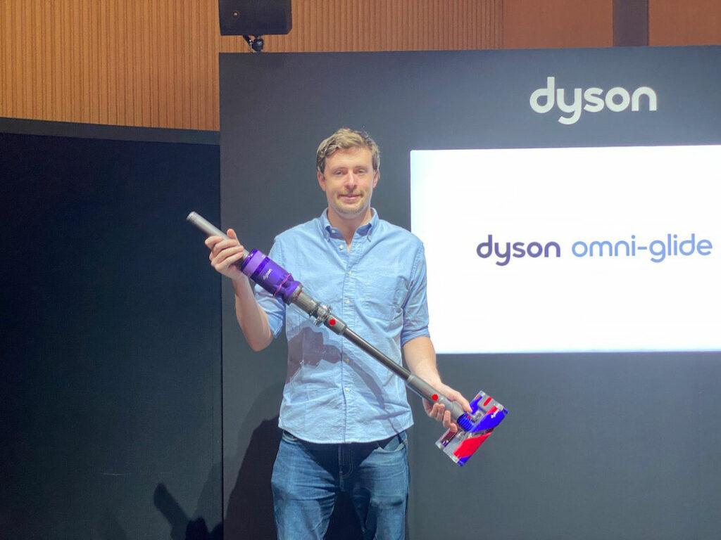 ダイソンから新しいスティック掃除機「Dyson Omni-glide」が登場